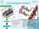 clic waveguide network