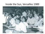 inside the sun versailles 1989