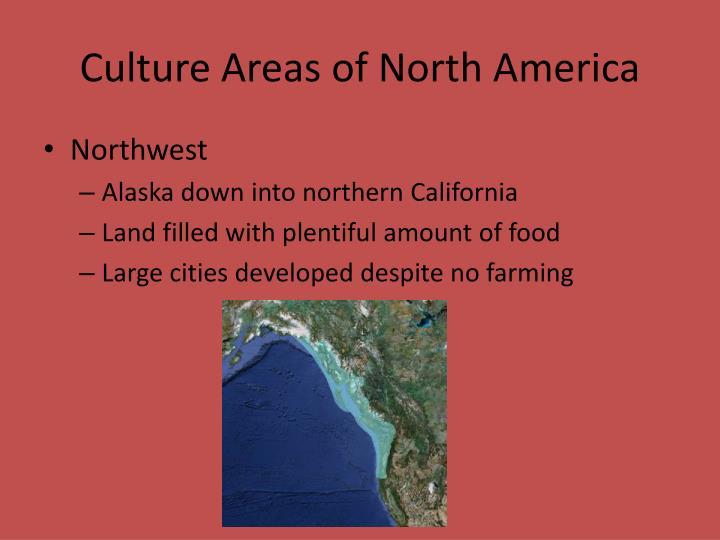 Culture Areas of North America