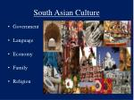 south asian culture