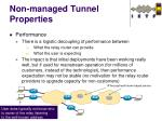 non managed tunnel properties1