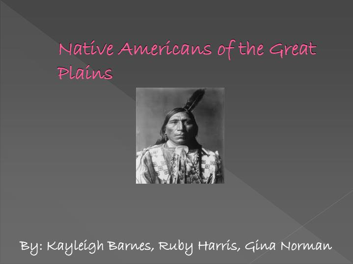 native americans of the great plains n.