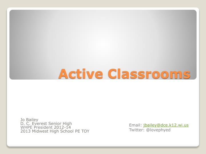 active classrooms n.