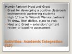 activities academic integration l52