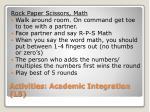 activities academic integration l53
