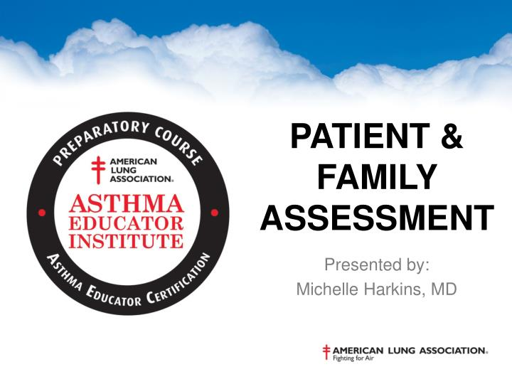 patient family assessment n.