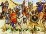 military victories