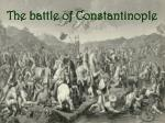 the battle of constantinople