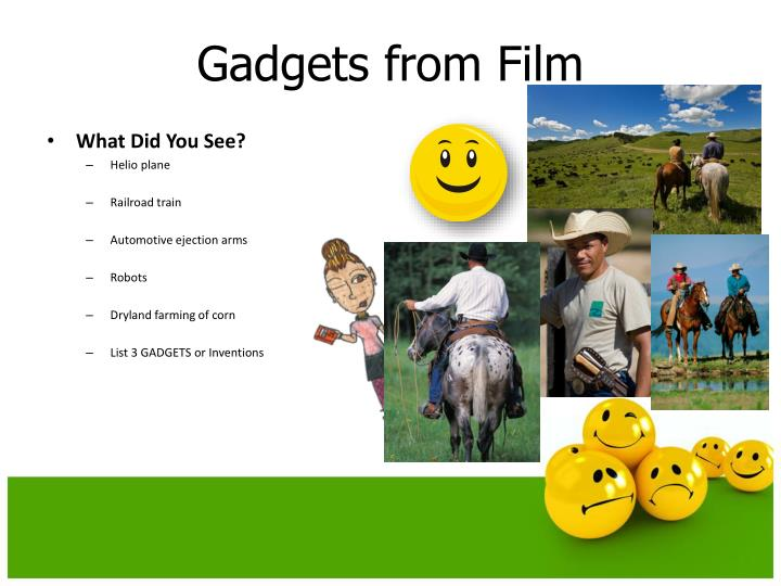 Gadgets from film