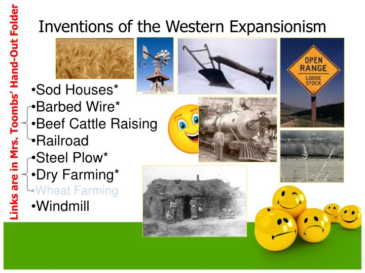 Inventions of the Western Expansionism