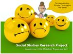 social studies research project