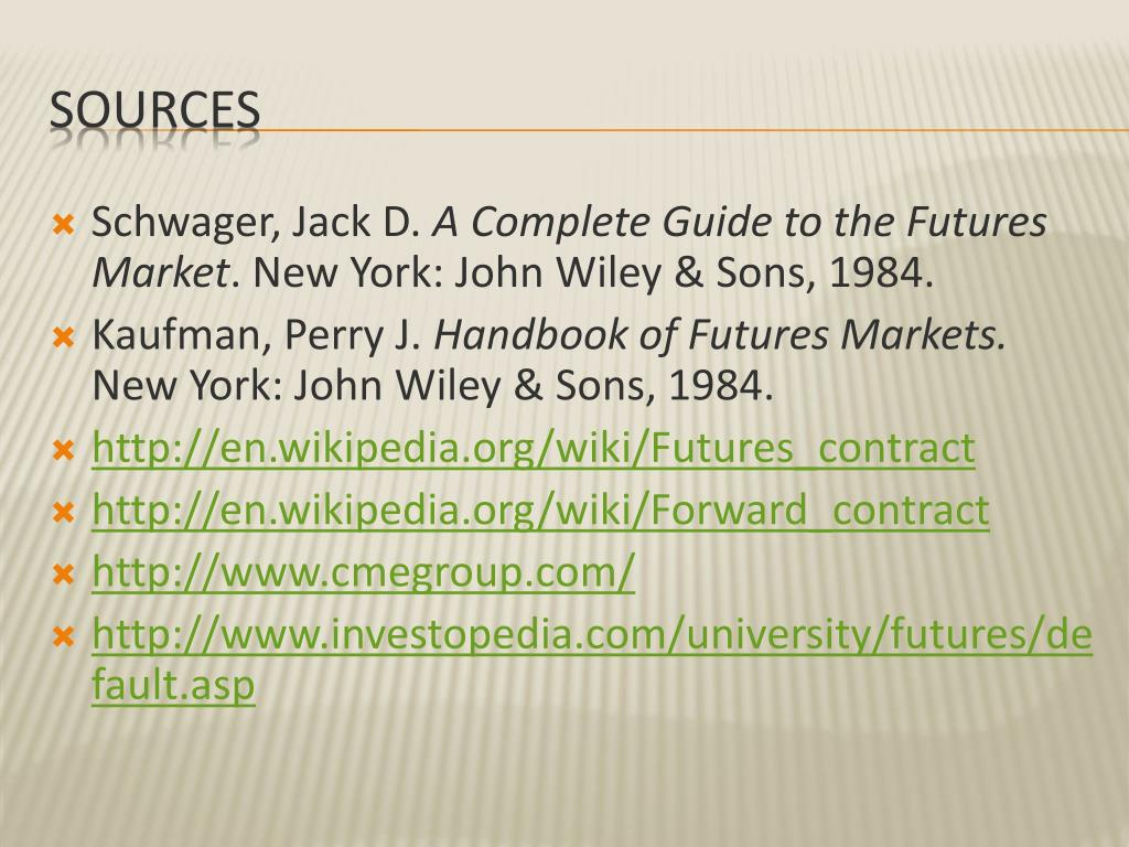 PPT - The Futures Market PowerPoint Presentation - ID:2123826