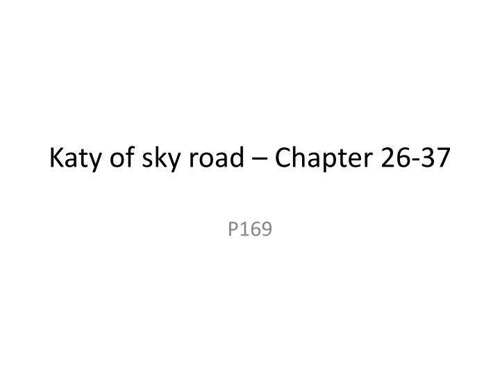 katy of sky road chapter 26 37 n.