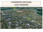 congresso nacional lago parano
