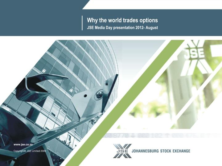 why the world trades options n.