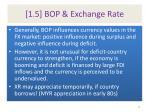 1 5 bop exchange rate