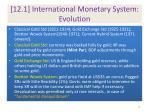 12 1 international monetary system evolution