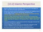 13 2 islamic perspective
