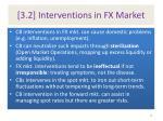 3 2 interventions in fx market