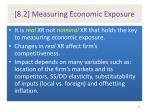 8 2 measuring economic exposure