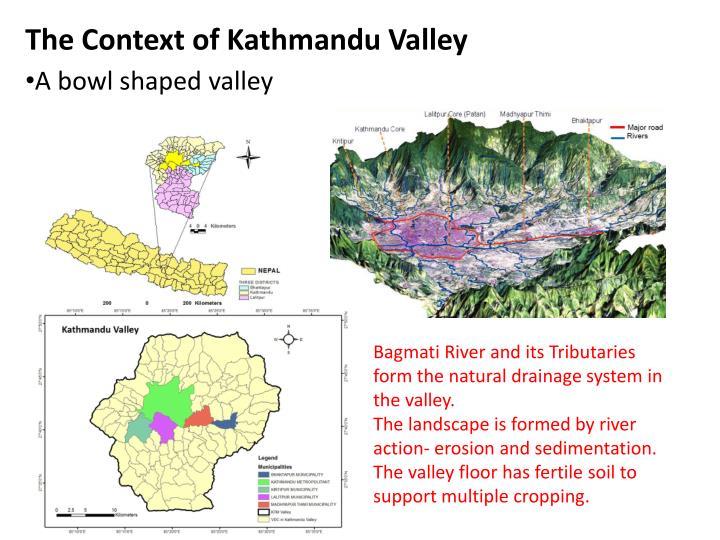 The context of kathmandu valley