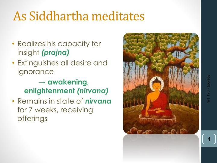 siddhartha essay thesis