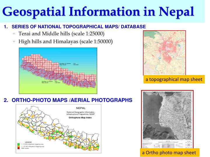 Geospatial Information in Nepal