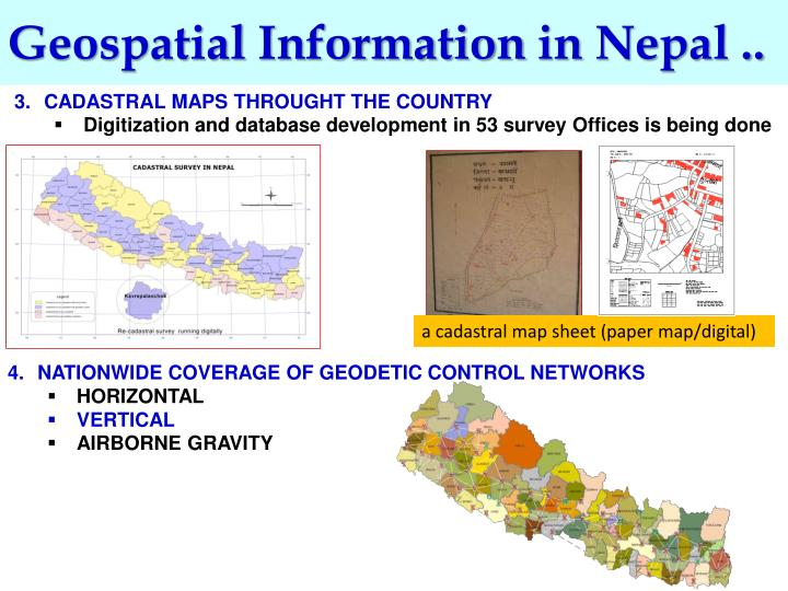 Geospatial Information in Nepal ..