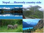 nepal heavenly country side
