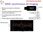 mhd synchronous 2d imaging
