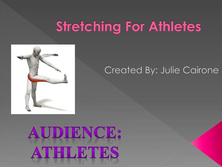 stretching for athletes n.
