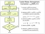 turbid water atmospheric correction r w nir 0