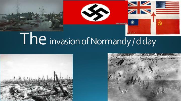 the invasion of normandy d day n.