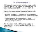 the rosen framework6
