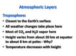 atmospheric layers