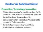 outdoor air pollution control