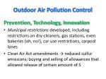 outdoor air pollution control1