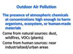outdoor air pollution1
