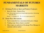 fundamentals of futures markets1