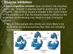 enzyme inhibition1