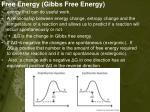 free energy gibbs free energy