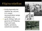 filipino rebellion