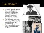 hail hoover