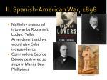 ii spanish american war 1898