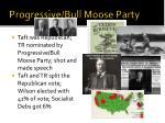 progressive bull moose party