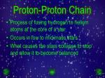 proton proton chain