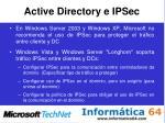 active directory e ipsec