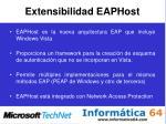 extensibilidad eaphost