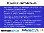wireless introducci n