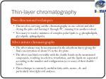thin layer chromatography1